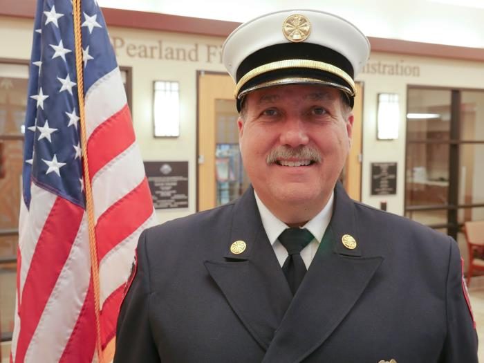 PFD Chief Vance Riley Photo