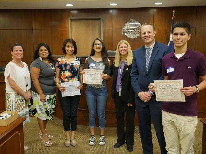 Pictures hillary teen court participants must edward teen