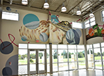 New Mural finished at Delores Fenwick Nature Center