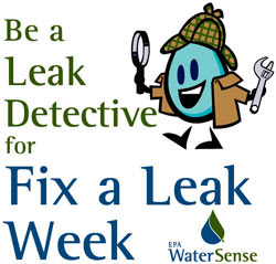 Don't Let the Water Run!  Pearland Promotes EPA's Fix A Leak Week