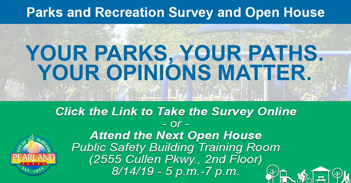 Click Here to Take The Parks and Rec Survey