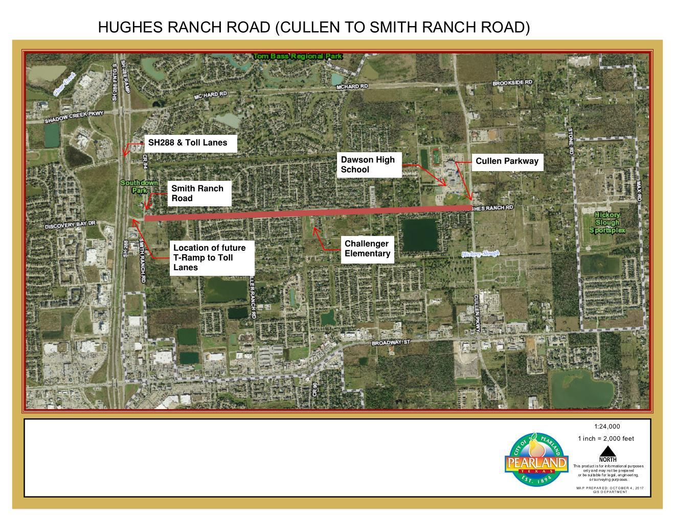 Hughes Ranch Road Project Delay