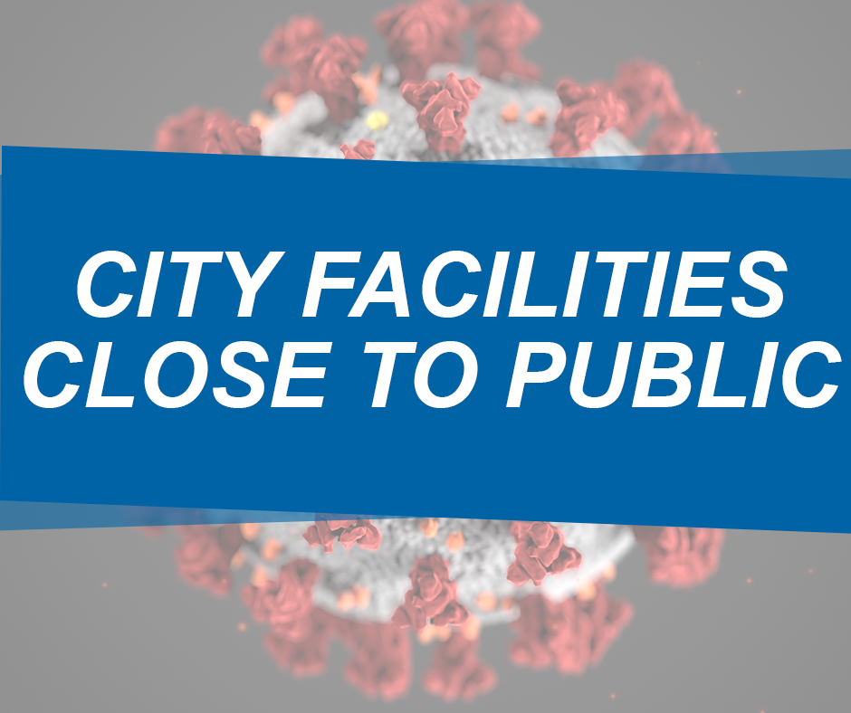 City Facilities Close FB Post