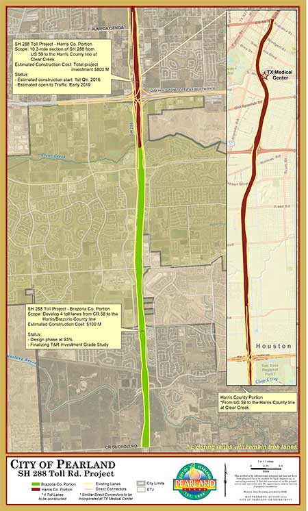 SH 288 Initiatives | City of Pearland, TX