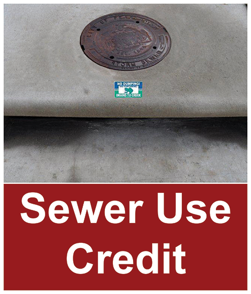 Sewer-use-credit-icon